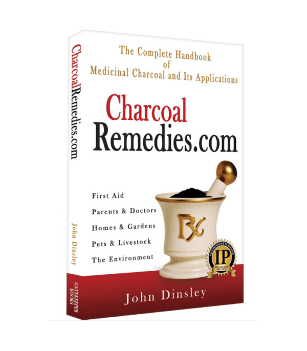 Charcoal Remedies 3D Book Cover / Mockup