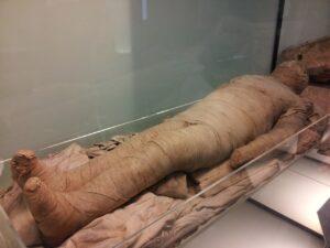 Egyptian Mummy Charcoal House