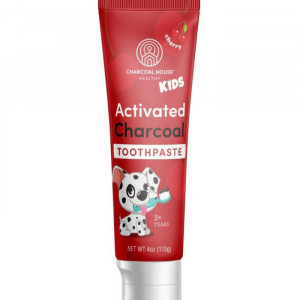 charcoal children's toothpaste without fluoride