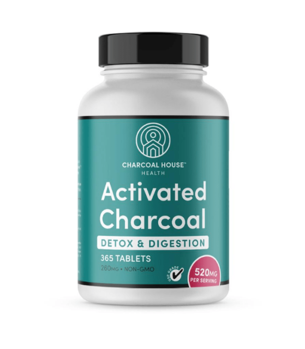 Activated Charcoal Tablets 365