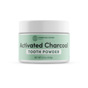 Activated Charcoal Tooth Powder Front
