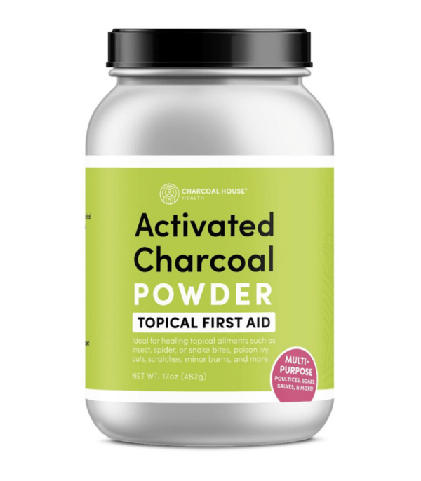 Hardwood Activated Charcoal Powder 17oz Charcoal House