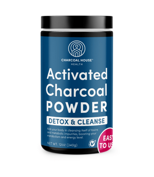 USP Coconut Activated Charcoal Powder - Detox and Cleanse ( 12 oz )
