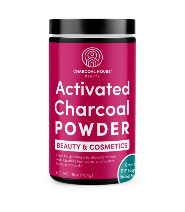 Bamboo Activated Charcoal Powder – Beauty and Cosmetics ( 12 oz )