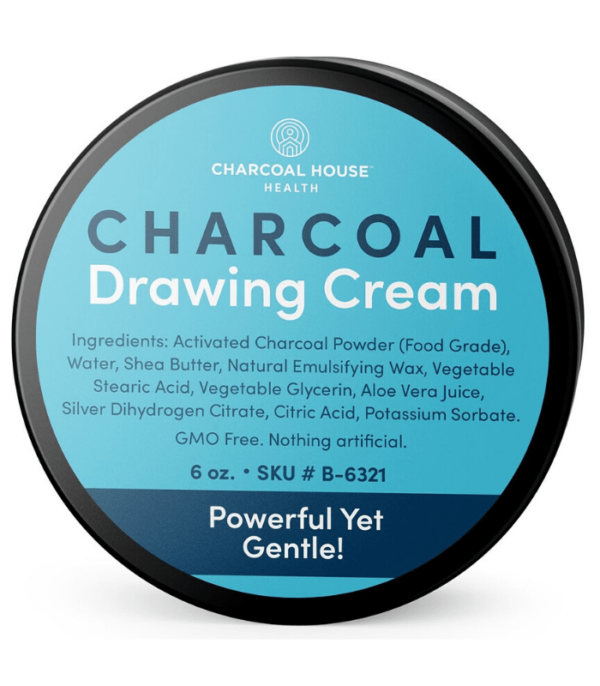 Activated Charcoal Drawing Cream - New Formula! ( 2 oz )