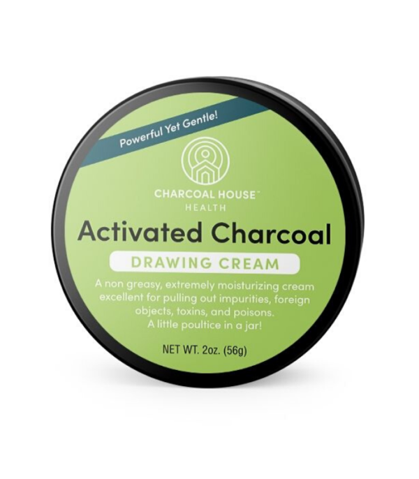 Activated Charcoal Drawing Cream - New Formula!-2 oz. Top Image