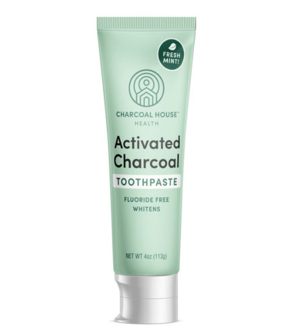 adult mint charcoal toothpaste