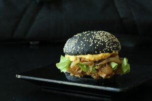 charcoal burger