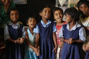 indian school children