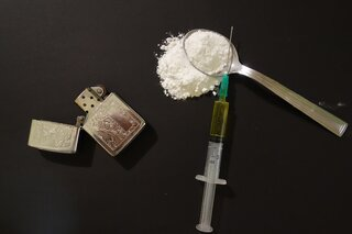 Quit Heroin with activated charcoal