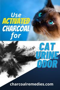 Odor Eliminator for Cat Urine Smell - Activated Charcoal