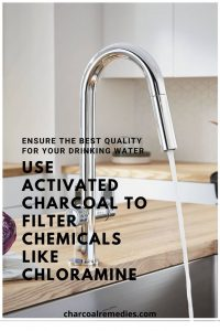 remove chloramine with activated charcoal 2