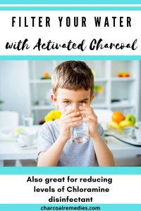 remove chloramine with activated charcoal 3