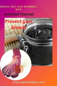 activated charcoal for Gout 1