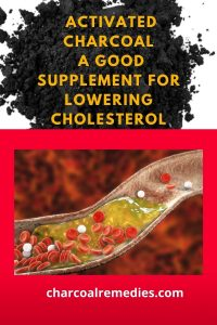 activated charcoal for cholesterol 1