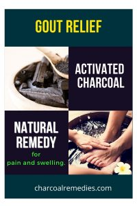 activated charcoal for gout 2
